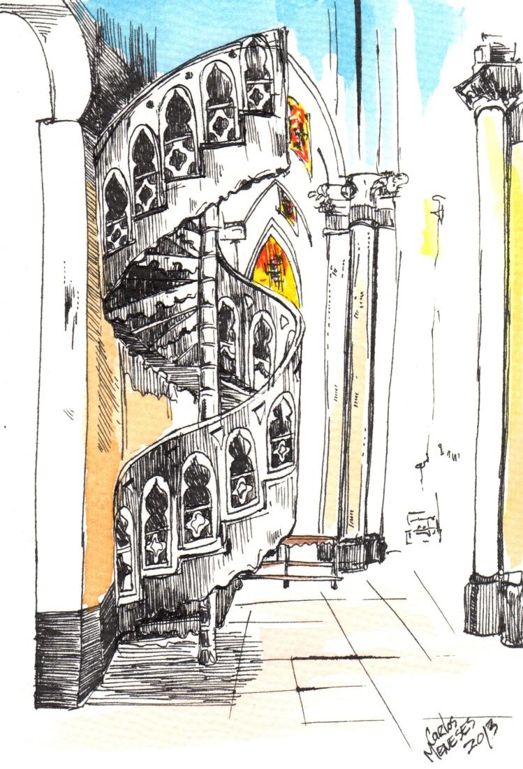 Escaleras santa Capilla